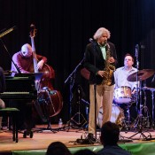 Gary Bartz, featuring the George Colligan Trio, wraps up the Mainstage Concert, to end the 2013 Ballard Jazz Festival.